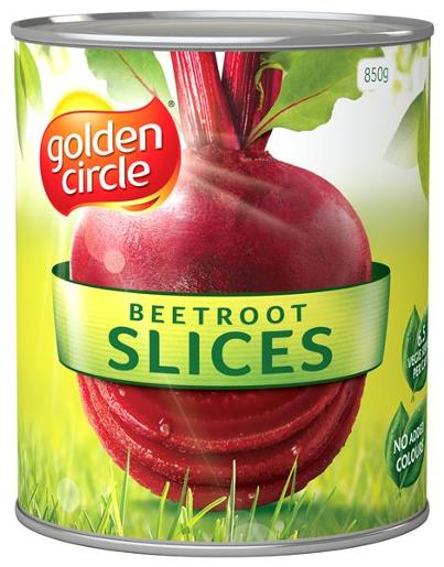 SLICED BEETROOT 850GM