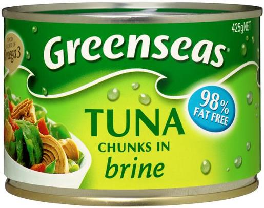 TUNA CHUNKS IN BRINE 425GM