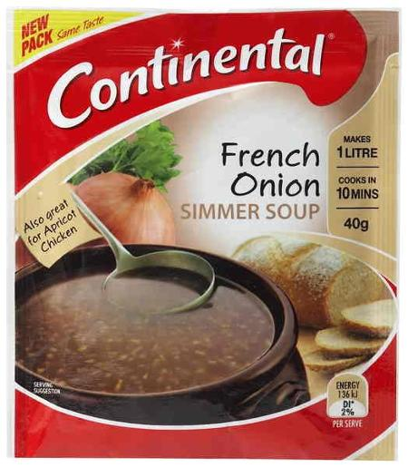FRENCH ONION SIMMER SOUP 40GM