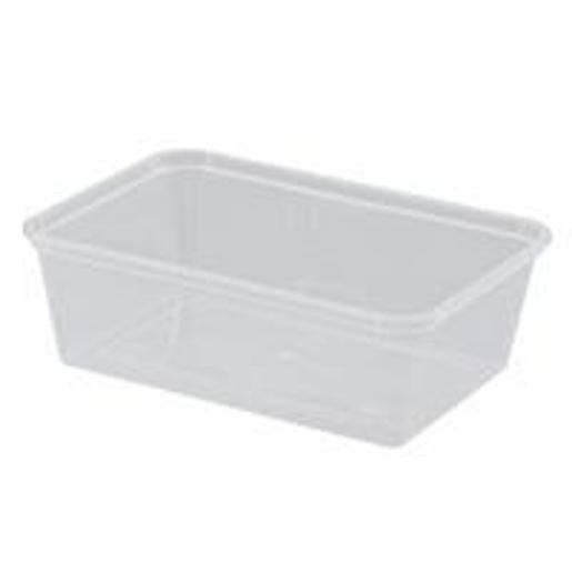 RECTANGLE CONTAINER 750ML 50S