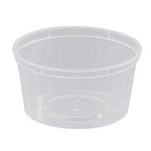 ROUND PLASTIC CONTAINER 16OZ/440ML 50S