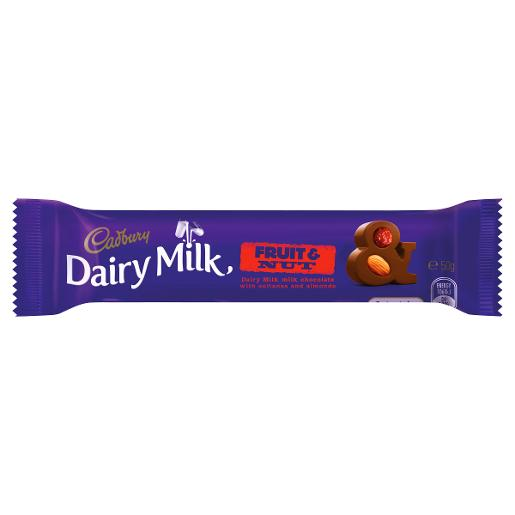 FRUIT AND NUT CHOCOLATE 50GM
