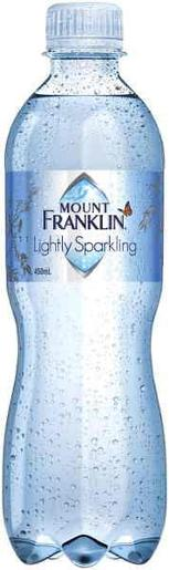 LIGHTLY SPARKLING MINERAL WATER 450ML