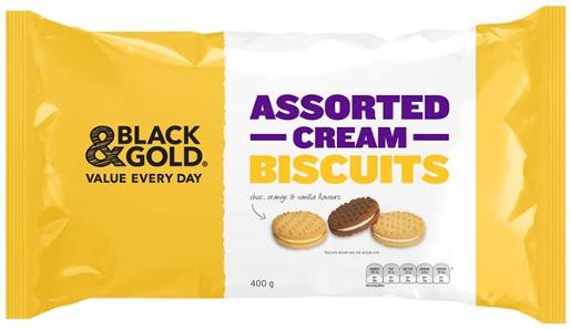 ASSORTED CREAM BISCUITS 400GM