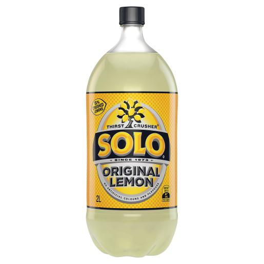 LEMON SOFT DRINK 2L