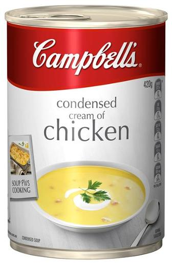 CONDENSED SOUP CREAM OF CHICKEN 420GM