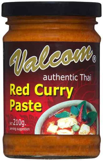 RED CURRY PASTE 210GM