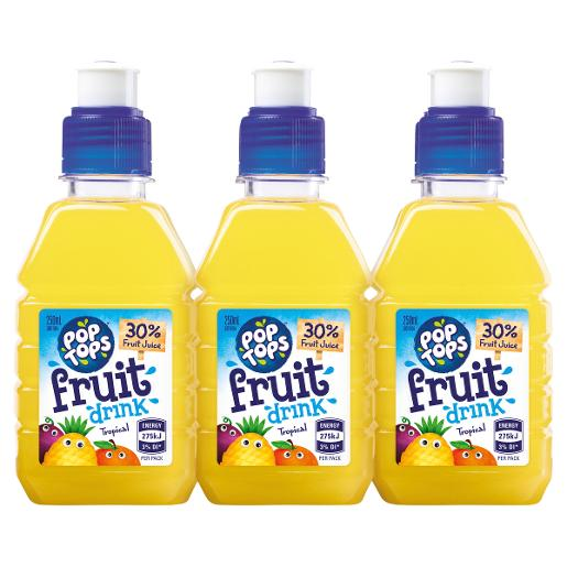 TROPICAL FRUIT DRINK 6X250ML